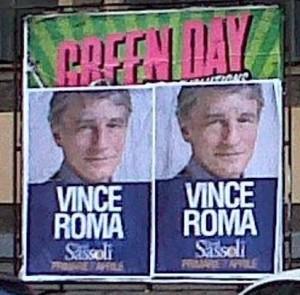 """Piccoli colpi di coda dello…."""" scorpioncello"""" E sta' volta tocca ai manifesti elettorali per le Comunali di Roma"""