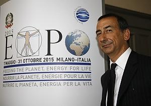 Enrico Letta corre a Milano  e rassicura sull'  Expo 2015
