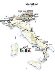 Ciclismo: sabato 4 maggio 2013 parte il Giro d'Italia, 96 esima edizione. Il via da Napoli, sul centralissimo lungomare