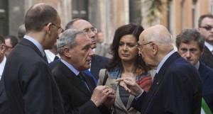 """Napolitano """"vigilerà"""" perché i partiti  concludano qualcosa e si occupino del Paese"""