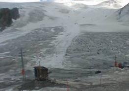 Val Senales: sci estivo addio!  Il ghiacciaio quasi non c'è più