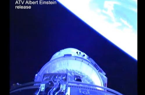 """ATV-4 col suo carico di 20 tonnellate  sta per raggiungere in orbita la """"ISS"""""""