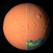 """""""Atlante unico"""" con le """"Mappe di Marte""""  per comprendere l'evoluzione del pianeta"""