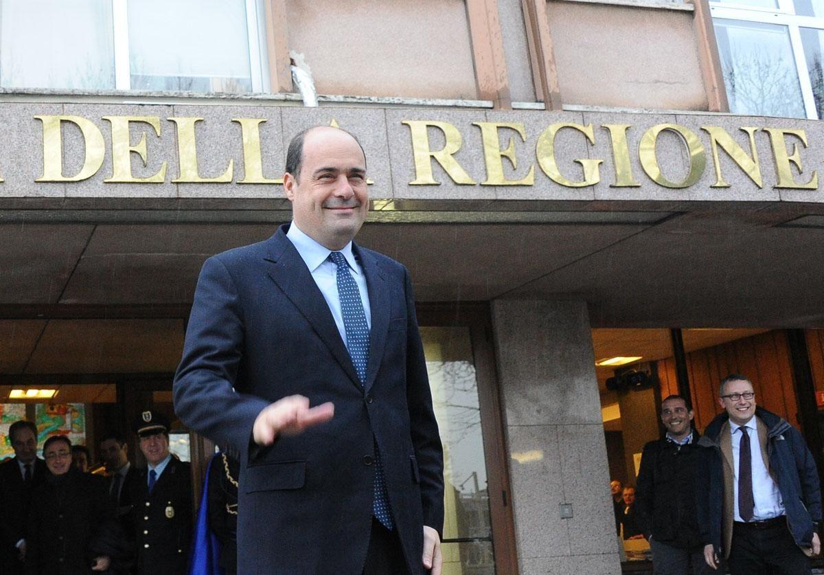 Regione Lazio:  la giunta Zingaretti a pieno regime  Ridotti da 20 a 12 i dipartimenti.
