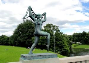 Oslo:  il parco Vigeland  e il ciclo della vita