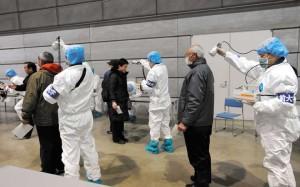 Operai della centrale di Fukushima:  altissima possibilità di cancro alla tiroide