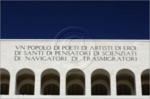 Anche il Palazzo della Civiltà Italiana  affittato come il Colosseo. Da Fendi.