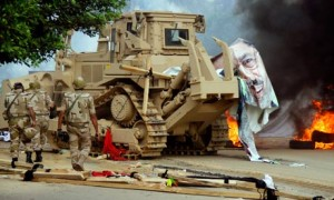 A Il Cairo, il giorno dopo:  stato d'assedio. Si contano i morti  Guerra pure sulle vittime: 500 o 4500?  Rischio di nuovi scontri e violenze