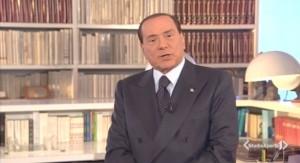 """Berlusconi interviene su una sua televisione:  la sentenza è """"allucinante e fondata sul nulla"""""""