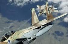 Aerei israeliani colpiscono in Libano  Risposta al lancio di 4 missili dei palestinesi
