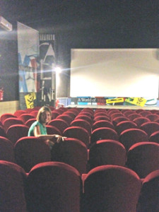 """Cinema Sala Tirreno di Borgo Carige  ai piedi del """"buen retiro"""" di Capalbio"""