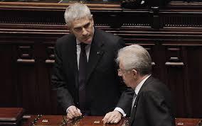 Notte da lunghi coltelli per Scelta Civica  Olivero fa un passo indietro e lascia  Monti minaccia d'andarsene. Poi, ci ripensa
