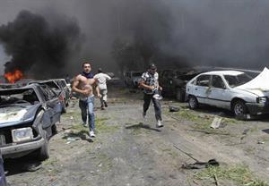 Libano: 42morti e 400 feriti a Tripoli  Due potenti autobombe colpiscono i sunniti