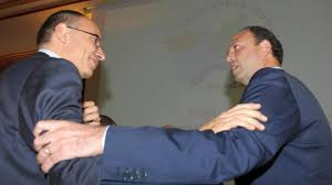 """Lungo colloquio tra Letta e Alfano  Come il """"libeccio"""" lascia il tempo che trova  Niente di fatto. Ma nessuno si aspettava novità"""