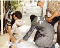 La Siria autorizza le ispezioni Onu su uso gas tossici  La notizia anticipata dall'Iran ad Emma Bonino  Attesa per vertice del 26 Agosto ad Amman  La preghiera del Papa e di Piazza San Pietro