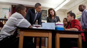 """Piano Obama rivoluzionario per Internet """"alta velocità""""  in tutte le scuole degli Usa"""