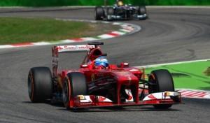 G.P. d'Italia Monza: semi riscatto per le Ferrari  Alonso secondo dietro Vettel. Massa quarto