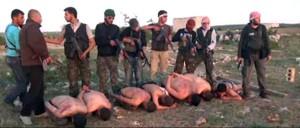 Immagini shoch su esecuzione soldati siriani da parte dei ribelli. Da San Pietroburgo conferma delle divisioni internazionali. Lavorato fino a tarda notte