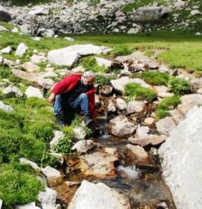 Bossi sul Monviso. Tornato alle sorgenti sbagliate…Il  sistema fluviale più lungo d'Italia: quello del  Tanaro. Le sorgenti sotto le Alpi Liguri del Marguares e non del Mon Viso …Pian del Re