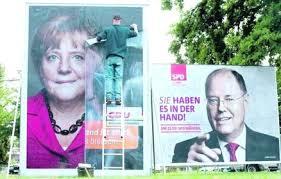 La Merkel un pò come Bersani: prima, ma non stravince. Le mancherà una manciata di voti per riuscire a governare da sola a Berlino?