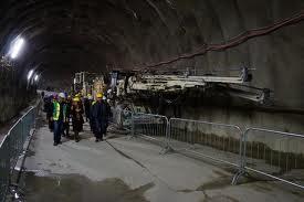 Brennero: delegazione di amministratori locali del Trentino in visita al cantiere del tunnel di base