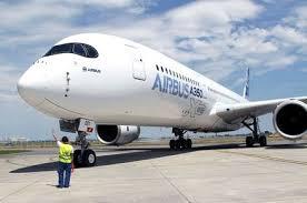 Airbus Industrie: ultimo test dell'ala del nuovo jet A350. Entrerà presto in servizio