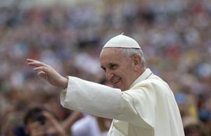 """L'annuncio di Papa Francesco all'Angelus: """"Pellegrinaggio in Terra Santa dal 24 al 26 maggio 2014"""""""