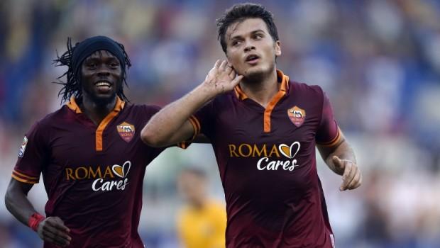 Verona-Roma 1-3 ed è riaperto il campionato. Il Milan vince a Cagliari e nel posticipo Fiorentina-Genoa 3-3