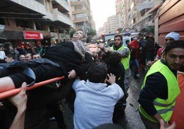 Attentato contro Hezbollah a Beirut  provoca sette morti e 75 feriti