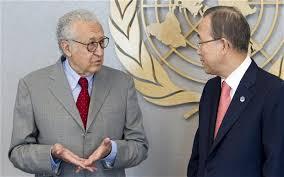 """Trattative sul conflitto siriano: si aprirà un corridoio umanitario ad Homs per donne e bambini. L'inviato dell'Onu, Brahimi: si va avanti con un """"mezzo passo alla volta"""""""