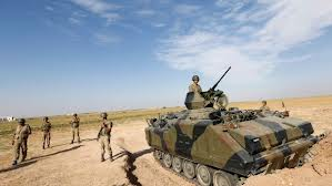 Attacco turco contro milizie islamiste in Siria.E' uno dei primi scontri con una parte degli insorti contro Damasco
