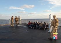 1000 migranti salvati dalla Marina Militare Italiana nel giro di 24 ore