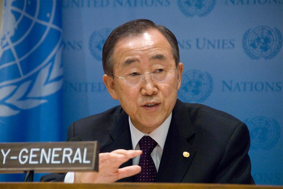 """Caso Marò: l'Onu """"scarica"""" l'Italia. Per il segretario generale Ban Kimoon è """"questione bilaterale""""."""