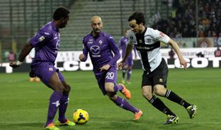 """Due pareggi nei """"post-posticipi"""" della 25 esima di Serie A. Fiorentina-Parma 2-2 e Napoli-Genoa 1-1"""