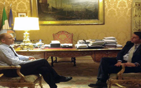 """Nulla di fatto nel """"faccia a faccia"""" Letta-Renzi a Palazzo Chigi. I due fermi sulle rispettive posizioni. Conferenza stampa del premier nel pomeriggio. Il Segretario poi su Twitter: """"dirò tutto domani in direzione"""""""