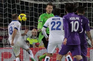 L'inter domina al Franchi e sconfigge la Fiorentina per 2-1 rovinando la festa a Matteo Renzi presente allo stadio