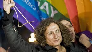 Liberata Vladimir Luxuria dopo alcune ore di fermo a Sochi per una manifestazione pro gay
