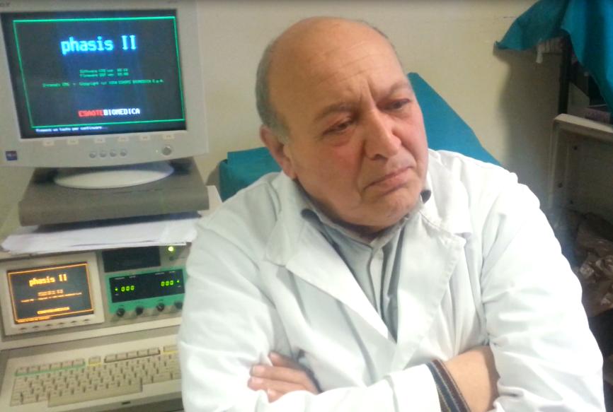 Costantini: il segreto é l'uso massiccio di Vitamina B1. Il Parkinson riceve un colpo definitivo