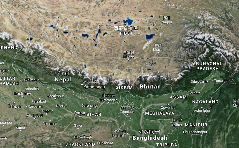 Crollati palazzi a Kathmandu, in Nepal per terremoto violentissimo di 7, 7 gradi