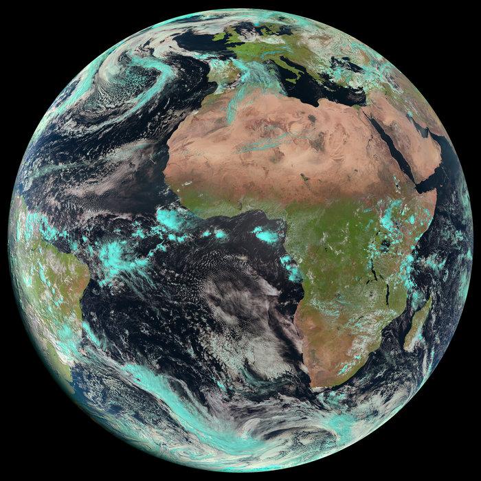 Dall' Esa: com'è la Terra, dove stiamo noi, un giorno d'Aprile