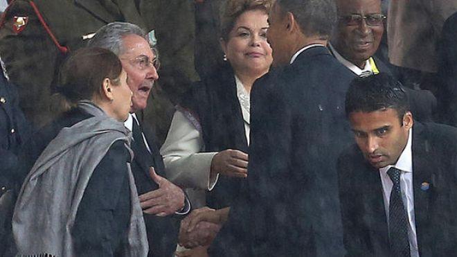 Cuba- Usa: una stretta di mano Obama Castro per avviare il disgelo