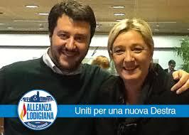 """Vaticano:frasi di Salvini sui rom sono stupide. La sua amica Le Pen """"interdice"""" il padre"""