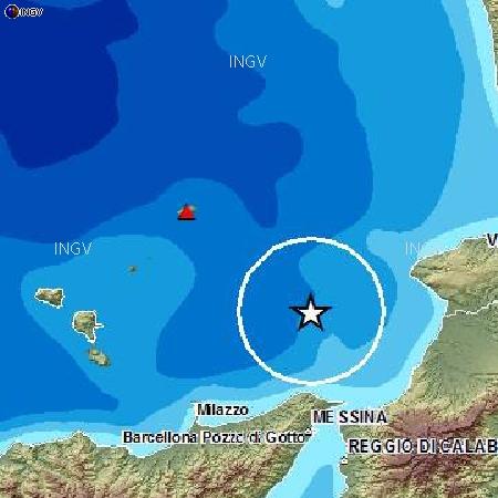 Terremoto nel Tirreno di fronte alle coste calabre