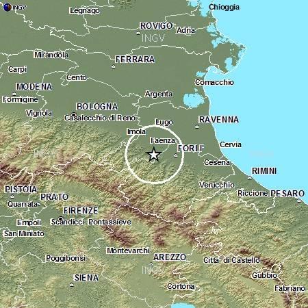 Terremoto d'intensità oltre 4 di magnitudo nella Romagna. Solo tanta paura