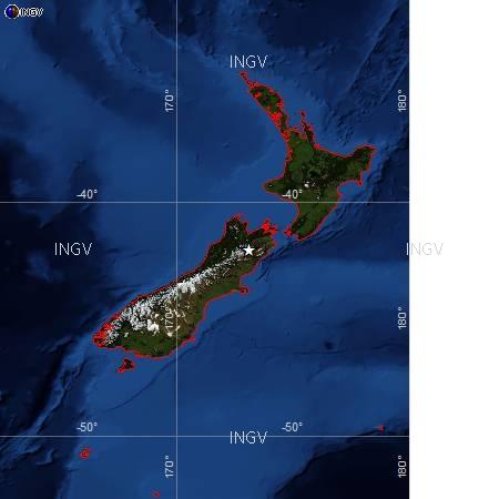 Violento terremoto colpisce Nuova Zelanda. Magnitudo 6,2