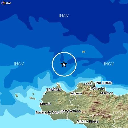 Altro terremoto al largo della Sicilia, 3.6 gradi