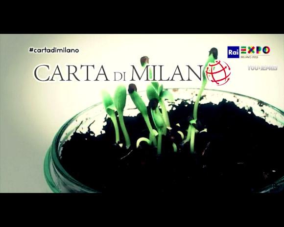 Expo. Carta di Milano: una nuova visione dell'alimentazione