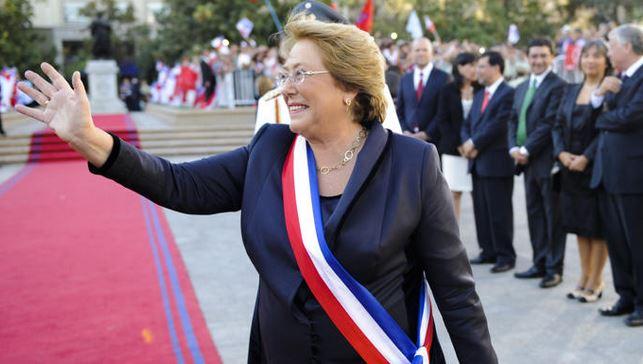 Crisi politica in Cile: la Presidente Bachelet vuole cambiare il Governo