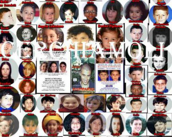 Scomparsi in 40 anni più di 15 mila bambini in Italia
