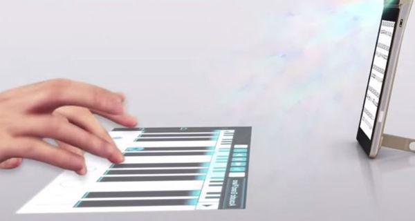 Lenovo lancia la tastiera virtuale che si può anche proiettare su una parete- Video